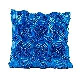 Yaohxu Zierkissenbezug 45 X 45 cm,Kissen Sofa Taille Kissenbezug Werfen Wohnkultur Kissenhülle,Zierkissen,Blau