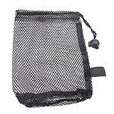 broadroot 1Golf Tennis Ball mit Halter Aufbewahrung Nylon Mesh Netze Tasche Tasche, 1