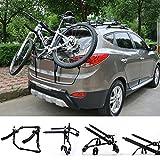 WOLTU Fahrradträger Fahrradhalter 2 Räder Heckträger Fahrrad Auto faltbar FZU1115