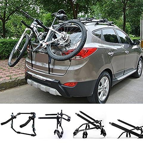 WOLTU Fahrradträger Fahrradhalter 2 Räder Heckträger Fahrrad Auto faltbar