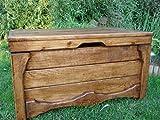 Massive Handgemachte Holzkiste Truhe Box Holz Aufbewahrung Antik Dekoration Wohnen Möbel Sitzbank Schuhschrank Kaffee Tisch (LU2)
