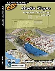 TwoNav tarjeta Italia apeninos del Centro Top 25para GPS