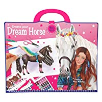 Depesche 8746 - Colouring Book Create Your Dream Horse Miss Melody