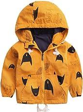 SMITHROAD Baby Junge Jacke Frühjahr Sommer Übergangsjacke mit Kapuze Warm Baumwolle Steppjacke Kapuze Jacke Winter Mantel Kleidung