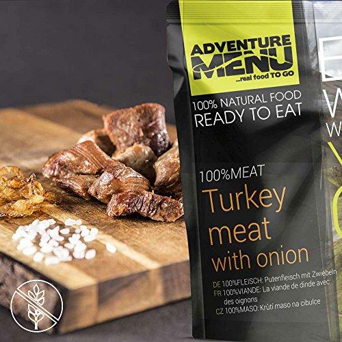 Adventure Menu 100% MEAT Putenfleisch mit Zwiebeln