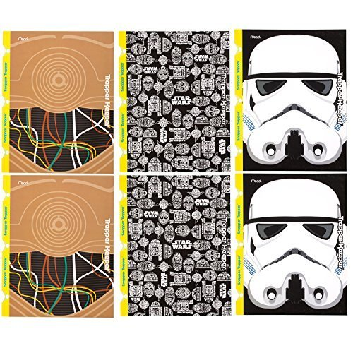star-wars-trapper-keeper-2-pocket-folders-by-mead-assorted-designs-6-pack-73493-by-mead