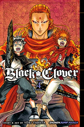Black Clover, Vol. 4: The Crimson Lion King (English Edition)