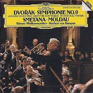 Dvorák : Symphonie n° 9 du 'Nouveau Monde' ; Smetana : Moldau