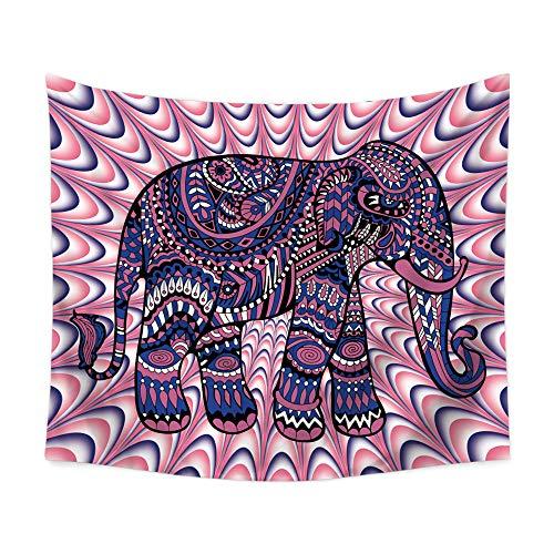 OTIAN Mandala Wandteppich Elefant Wandbehang Tuch Decke Bauernhaus Dekor Ethnischen Wandteppich Polyester Yoga Matte