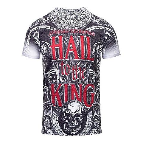 Avenged Sevenfold Chalice T Shirt (Grey)