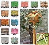 Vogelhaus+Ständer-Futterhaus-K-BEL-VOVIL4-MS-dbraun002 Großes PREMIUM-Qualität,