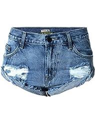 Wgwioo Les Femmes Perdent Les Pantalons Chauds Les Courts Métrages De Plage Jean Denim Jean Serrure Vacation Nightclub Party