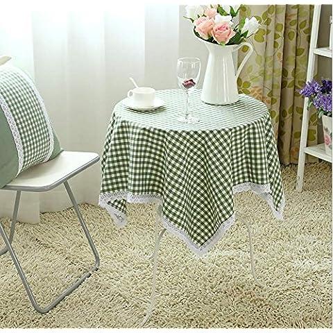 ZHEN Han Shilei sabbia cotone stampa floreale in pizzo rotondo tavolo panno tovaglie . 9 . 130*130cm