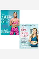 Chloe madeley collection 2 books set (4 week body blitz, the fat loss blitz) Paperback