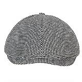 #6: FabSeasons Small Checkered Golf Flat Cap