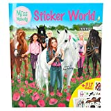 Miss Melody 8784.001 Stickerworld, Mal- und Stickerbuch