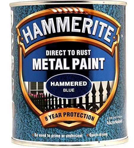 new-2015-hammerite-hammered-direct-to-rust-metal-paint-blue-750ml-by-hammerite