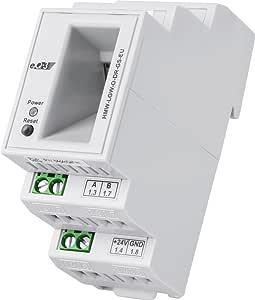 Homematic Wired Rs485 Lan Gateway Hutschienenmontage Baumarkt