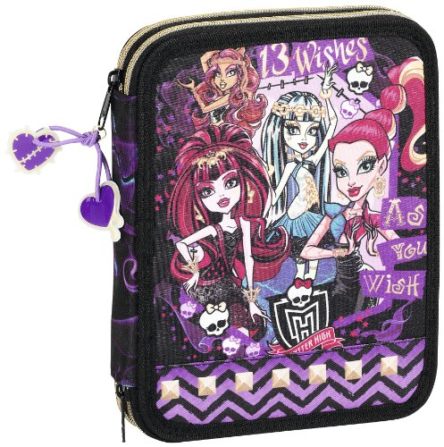 Monster High – Plumier Doble Grande (SAFTA 411366056)