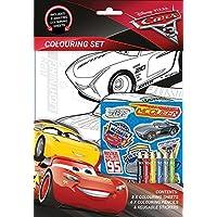 Disney Pixar Cars 3 Colouring Activity Set Stickers 6 x Colour Pencils Kids Party Bag