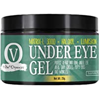 Under Eye Gel for Dark Circles - For Dark Circles, Puffiness, Wrinkles & Radiant Skin