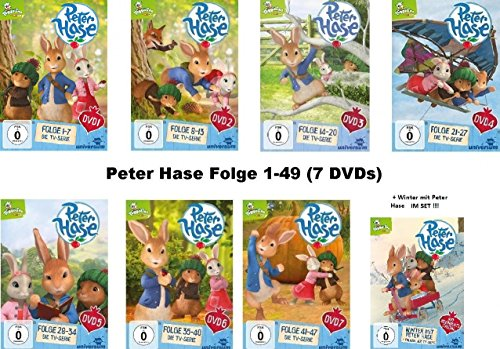 Vols. 1-7 + Winter mit Peter Hase (8 DVDs)
