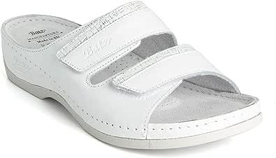 Batz Rea Sandali Zoccoli Sabot Pantofole Scarpe di Pelle, Donna