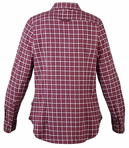 FjällRäven Sörmland Flannel Shirt LS W - Langarm-Shirt aus leichtem, weichem Baumwollflanell Chalk White (113)
