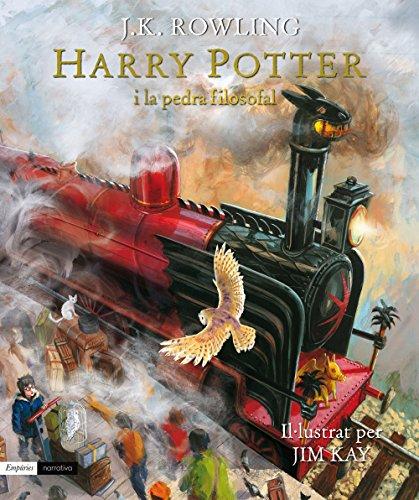 Harry Potter i pedra filosofal edició il·lustrada