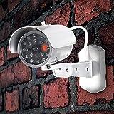 Vídeo Cámara falsa de vigilancia con sensor de movimiento para interior/exterior
