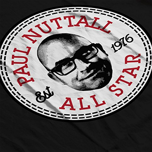 Paul Nuttall All Star Converse Logo Women's Vest Black