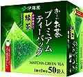 Le thé vert 1.8g * 50P × 6 boîte (50 sachets) de thé vert contient Ito En Mi secousse suis sachet de thé