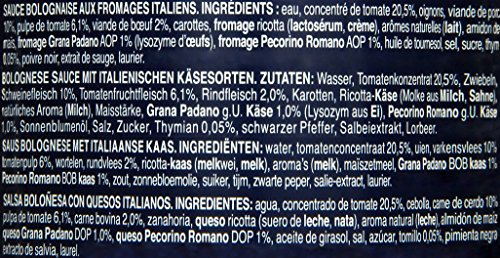 Barilla Pastasauce Bolognese Formaggi Italiani – Bolognese-Sauce 1 Glas (1x400g) - 3