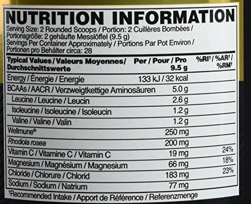 OPTIMUM NUTRITION ON GS BCAA Train & Sustain Fraise - Kiwi 266 g