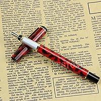 3 secci/ón Travel pluma de dibujo caligraf/ía escritura Business Christmas Gift Pen pintura Moonman metal Mini Corta pluma plum/ín de iridio fino bol/ígrafo de bolsillo