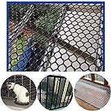 Kunststoff Gartenzaun Mesh-Schwarz 12mm Geflügelzucht Netting Huhn Net - Ideal For Pflanzenbau, Tier, Gemüse Schutz Und Kletterpflanze Unterstützung Net ( Color : Black , Size : 1.5x2m )