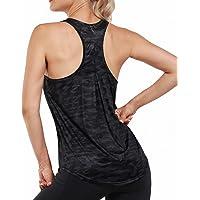 Promover Yoga Débardeurs Femmes Sexy Pilates Sport Gilet Lâche Gym Gilet Extensible à Séchage Rapide Anti-humidité…