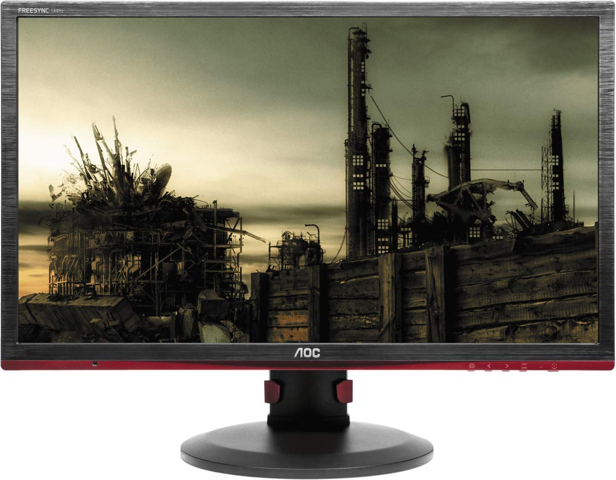 AOC-g2260Vwq6-215-Widescreen-TN-LED-BlackRed-Monitor-1920x10801msVGAHDMIDP