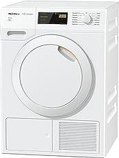 Miele TDB 230 WP Active Wärmepumpentrockner mit geringem Energieverbrauch & Trocknungszeit/Energieklasse A++ (211 kWh/Jahr)/Trockner (7kg) mit Knitterschutz/schonender Wäschetrockner/weiß