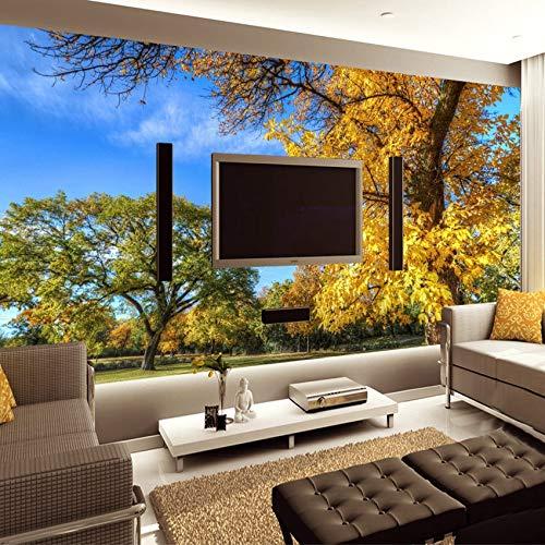 3D fototapete wandmalerei Wald Park Natur Landschaft Wohnzimmer Schlafzimmer Hintergrund Mural tapete de parede-400x280cm