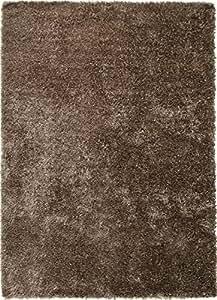 ESPRIT New Glamour Moderner Markenteppich, Polyacryl/Polyester, Braun, 300 x 200 x 4 cm