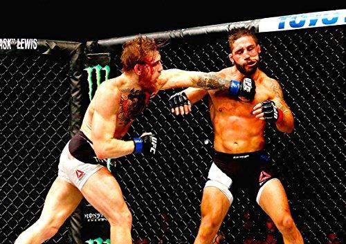 Plakat UFC CONOR MCGREGOR VS CHAD MENDES Wand Kunst