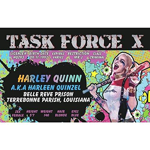 Schilder 4Fun Harley Quinn 's Lizenz