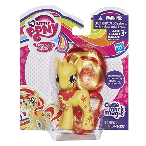 My Little Pony My Little Pony Cutie Mark Magic Sunset Shimmer Figure