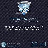 PROTOMAX Nano Antibeschlag Spray (Antifog) für Spray für Schwimmbrillen / Schwedenbrillen (20 ml)
