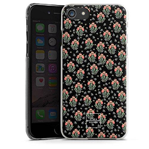 Apple iPhone X Silikon Hülle Case Schutzhülle Steinrohner Tigerlily Blumen Hard Case transparent