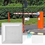 Pbzydu Sistema di Controllo accessi parcheggio, Lettore di schede RFID UHF a Lunga Distanza Impermeabile 110-240V(Unione Europea)