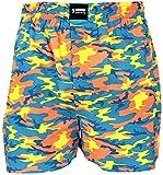 Happy Shorts Webboxer Herren Boxer Motiv Boxershorts Farbwahl, Grösse:XXL - 8-56, Präzise Farbe:Camouflage