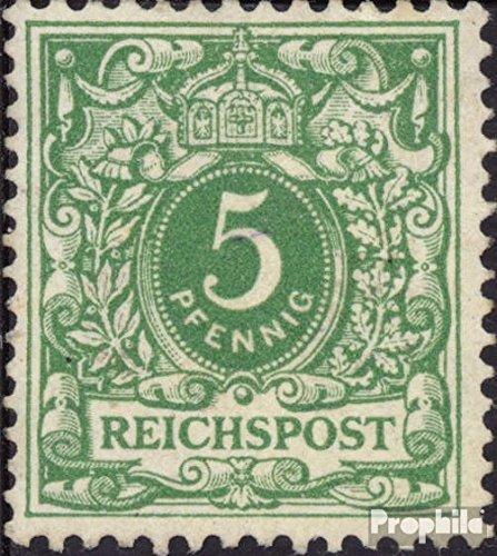 Deutsches Reich 46 gestempelt 1889 Ziffernzeichnung/Reichsadler (Briefmarken für Sammler)