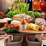 azutura Frische Bio-Zutaten Wandbild Essen & Trinken Foto-Tapete Küche Dekor Erhältlich in 8 Größen Klein Digital